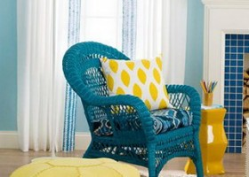 4-yellow chair