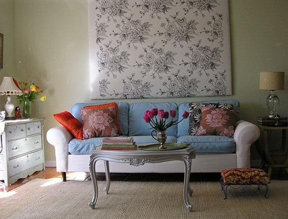 5-blue cushion