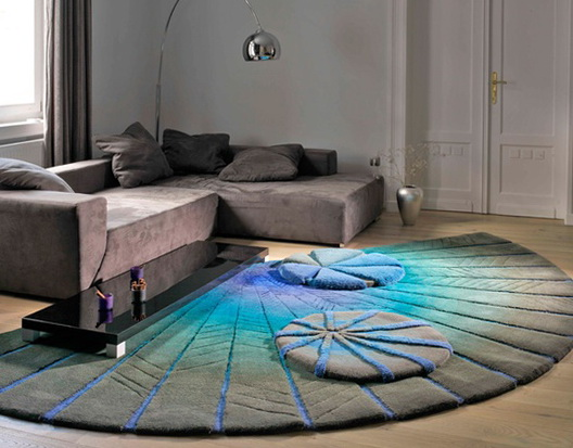 Interesting Rugs beautiful and interesting interiors with the use of carpets | home
