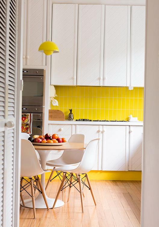 5-yellow kitchen
