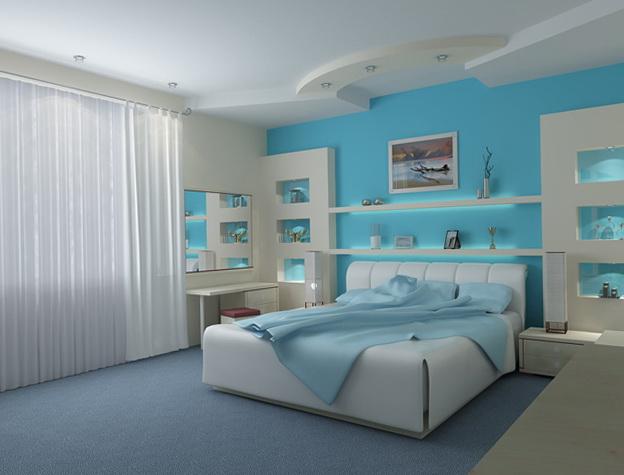 6-blue wall