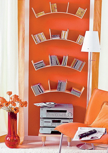 6-curved shelves