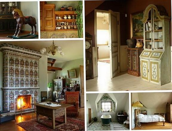 The interior in the Russian style | Home Interior Design, Kitchen ...