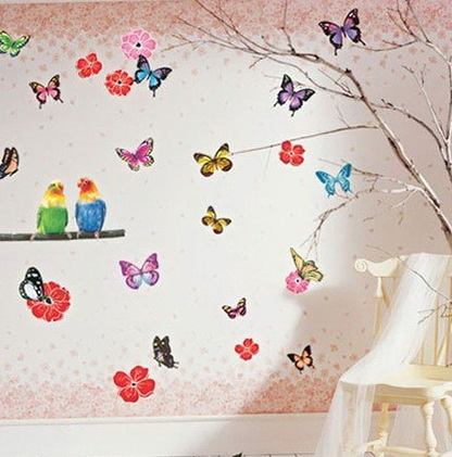 7-butterflies and flowers