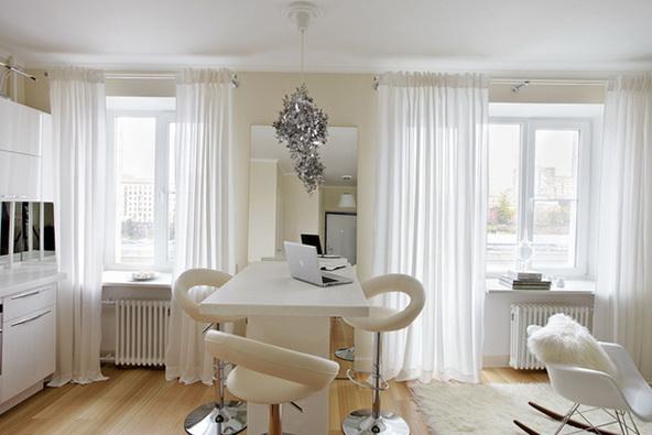 7-white table