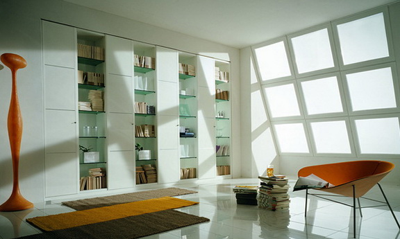 8-white bookcase