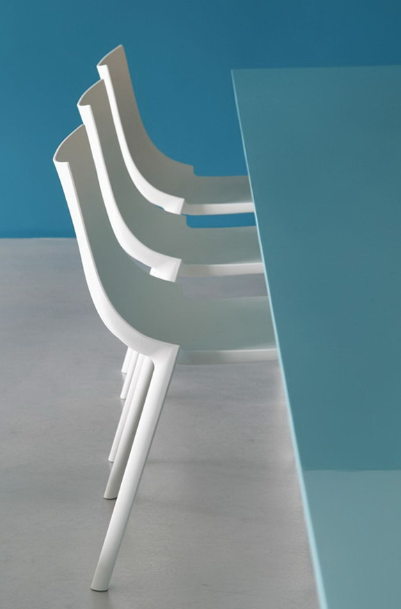 9-white chairs