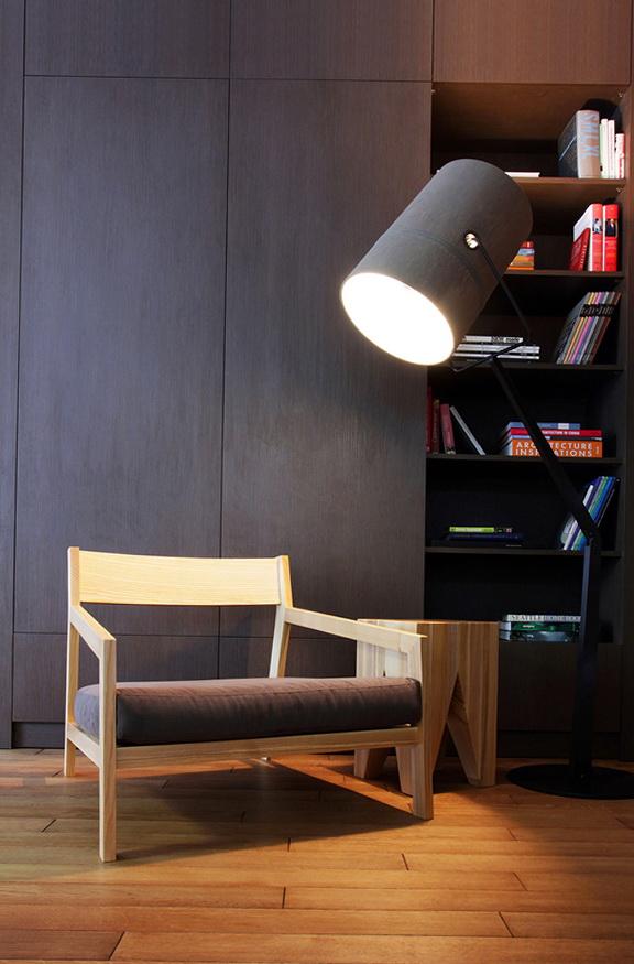 9-wide armchair