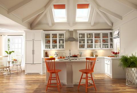 1-orange-kitchen-in-the-interior