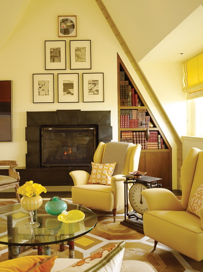 2-yellow living room