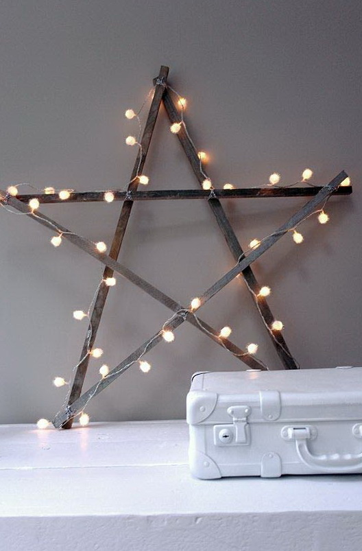 3-star garland