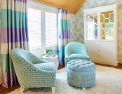 10 bright and colorful interiors