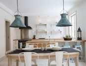 Bright minimalist Scandinavian style