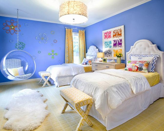 7-blue walls