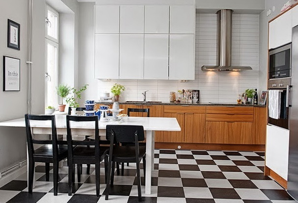 8-checkerboard tile