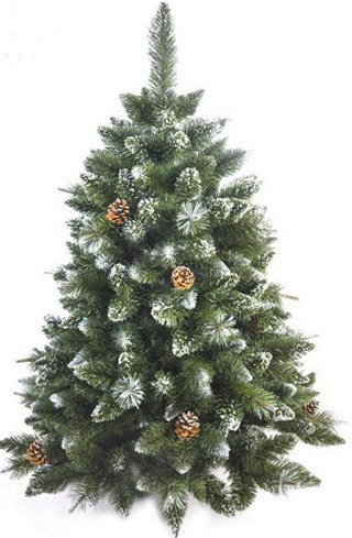 9-artificial Christmas trees