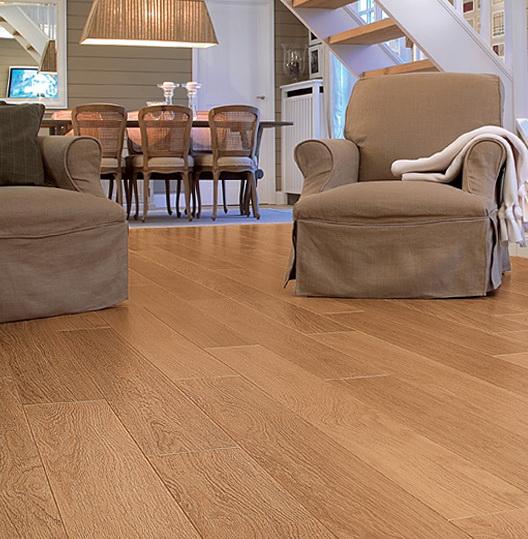 9-light laminate flooring in the interior