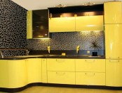 The use yellow in the interior