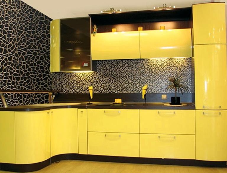 The use yellow in the interior home interior design for Schreibtisch yellow
