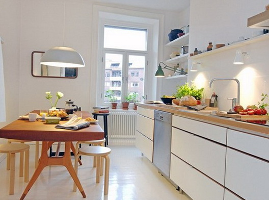 Scandinavian Style Kitchen U2013 Is Compatible Of The Rococo Style, The  Classics. Today We Look At 20 Beautiful Kitchens In Scandinavian Style.