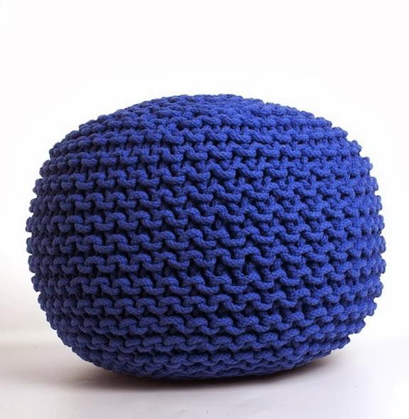 1-blue ottoman