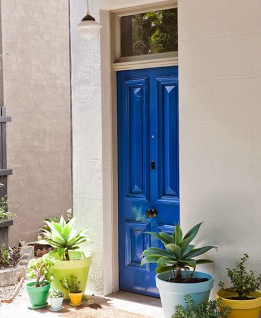 2-blue doors