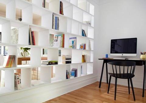 3-white bookcase