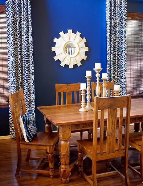 Cobalt Color In The Interior Home Interior Design