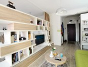 Bright studio apartment in Romania