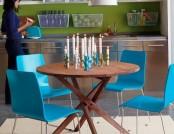 10 Bright dining tables