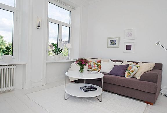 12-white table