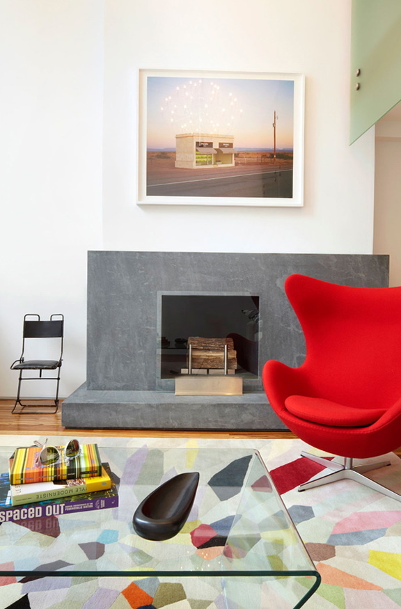3-built-in fireplace