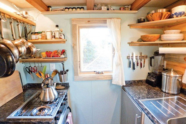 Tiny house for two family members Home Interior Design Kitchen
