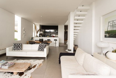 2. 2. Minimalist House In South Africa Home Interior Design ...