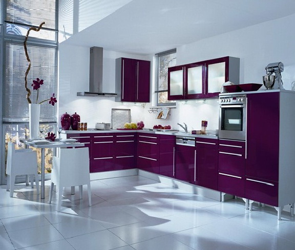 Genial With Purple As Accurately And In A Minimum Amount Necessary To Use Green  Color, You Can Use Purple Shades With Touches Of Green.