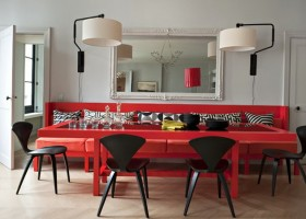 6-red living room