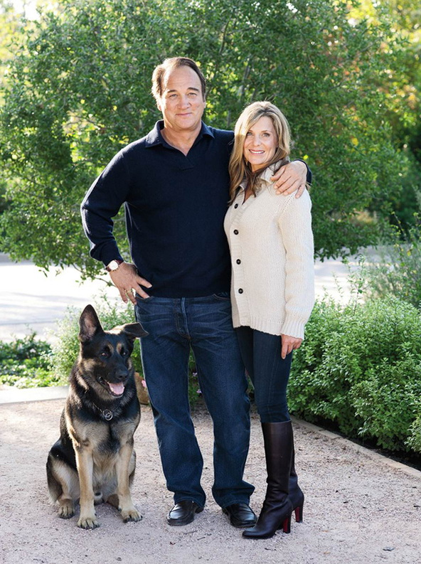 Classic And Bright Home Of James Belushi Home Interior