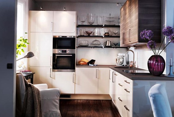 IKEA Style Kitchen Very Suitable For A Very Small Kitchen Which Is