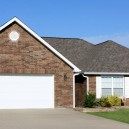 Home with Garage Door