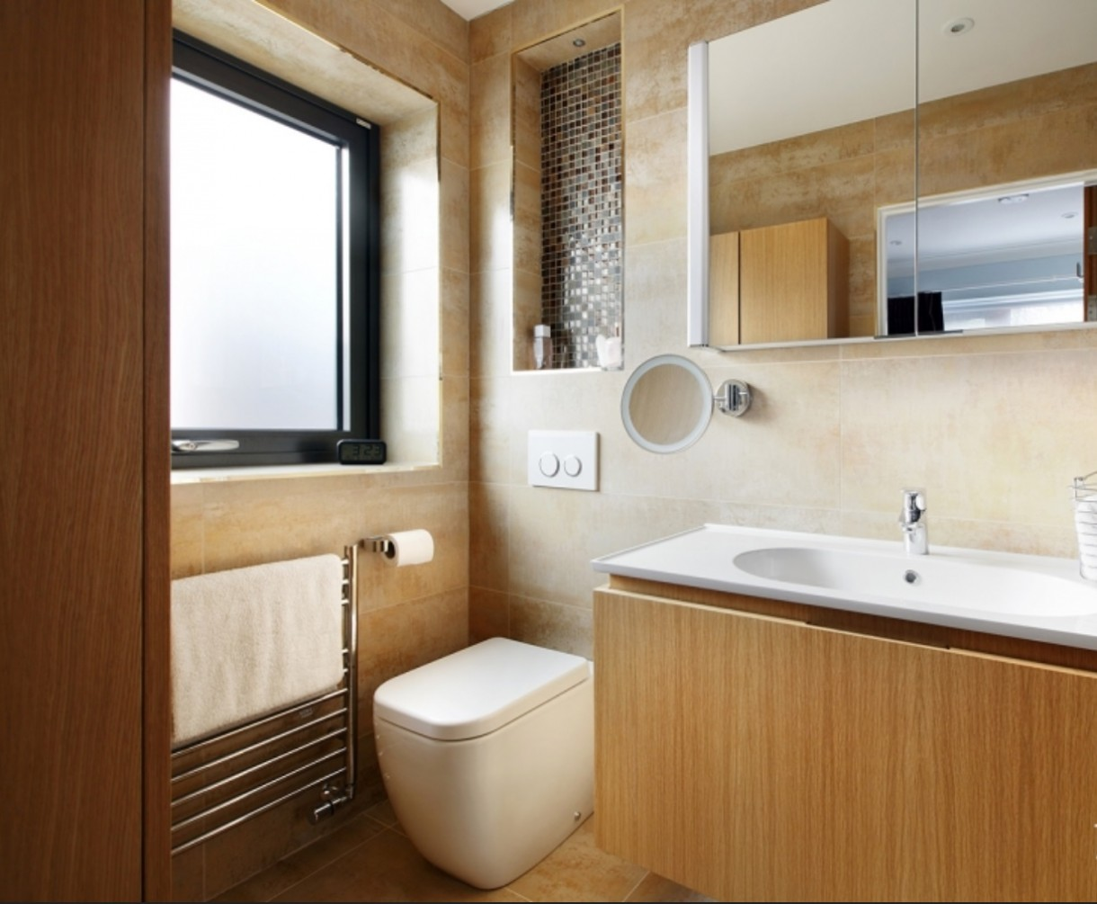 Wooden.modern.bathroom