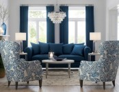 Deep Blue Color in Latest Interior Collections