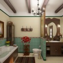 0-bathroom-interior-design-ceiling-beams-traditional-style-brown-faux-wooden-furniture