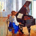 0-bentwood-chair-in-old-interior-soviet-painting-girl-sitting-by-the-piano-rehearsal