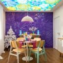 0-bright-positive-interior-purple-orange-white-living-room-3D-gypsum-wall-LED-ceiling-retro-dining-room-furniture-set-herringbone-chest-of-drawers-white-christmas-tree-spruce-fireplace