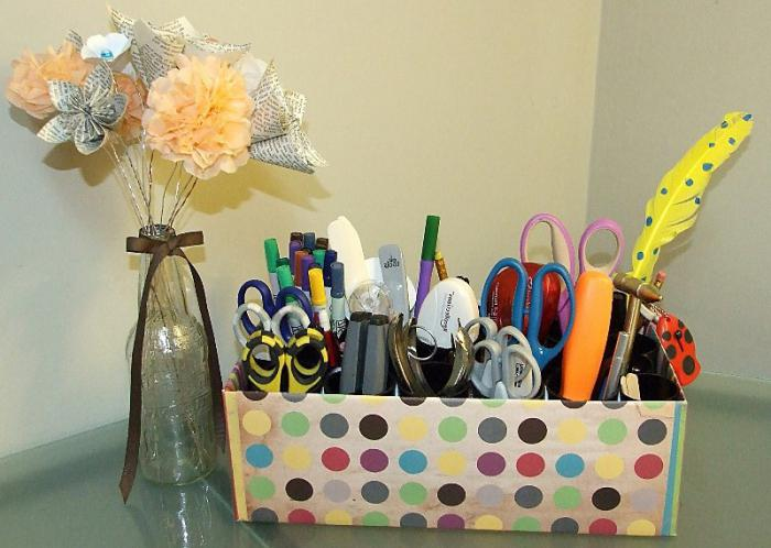 0-diy-shoe-box-reuse-idea-marker-pencil-pen-organizer-caddy