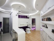 Futuristic Spacecraft-Style Apartment: NASA Would Be Proud