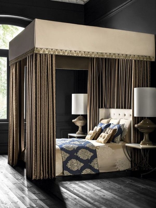 0-luxurious-designer-elegant-dark-home-textile-togas-nocturne-collection-bed-linen-canopy-bed-black-walls-in-interior-design-classical-style-bedroom