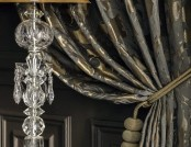 """Nocturne"": Discreet Luxury of Dark Home Textile"