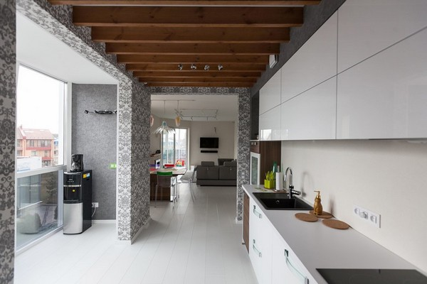 Modern Style Apartment modern minimalistic apartment with white walls and floors | home