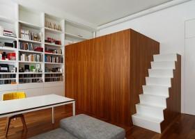 1-modern-minimalist-studio-apartment-loft-bed-secret-bathroom